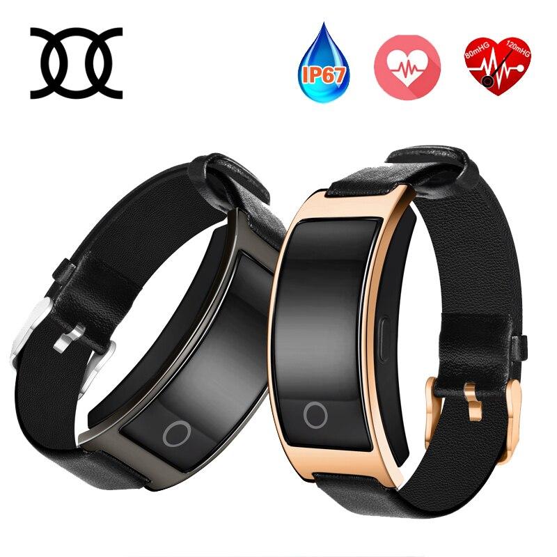 imágenes para CK11S Inteligente Reloj de Pulsera Banda de Presión Arterial Monitor de Ritmo Cardíaco Gimnasio Rastreador Bluetooth Reloj AndroidPk Xiaomi band Ajuste bits