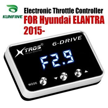 Corrida Controlador Booster Potent Acelerador Acelerador Eletrônico velocidade do carro Para Hyundai ELANTRA 2015-19 Encaminha Sintonia Peças Acessório