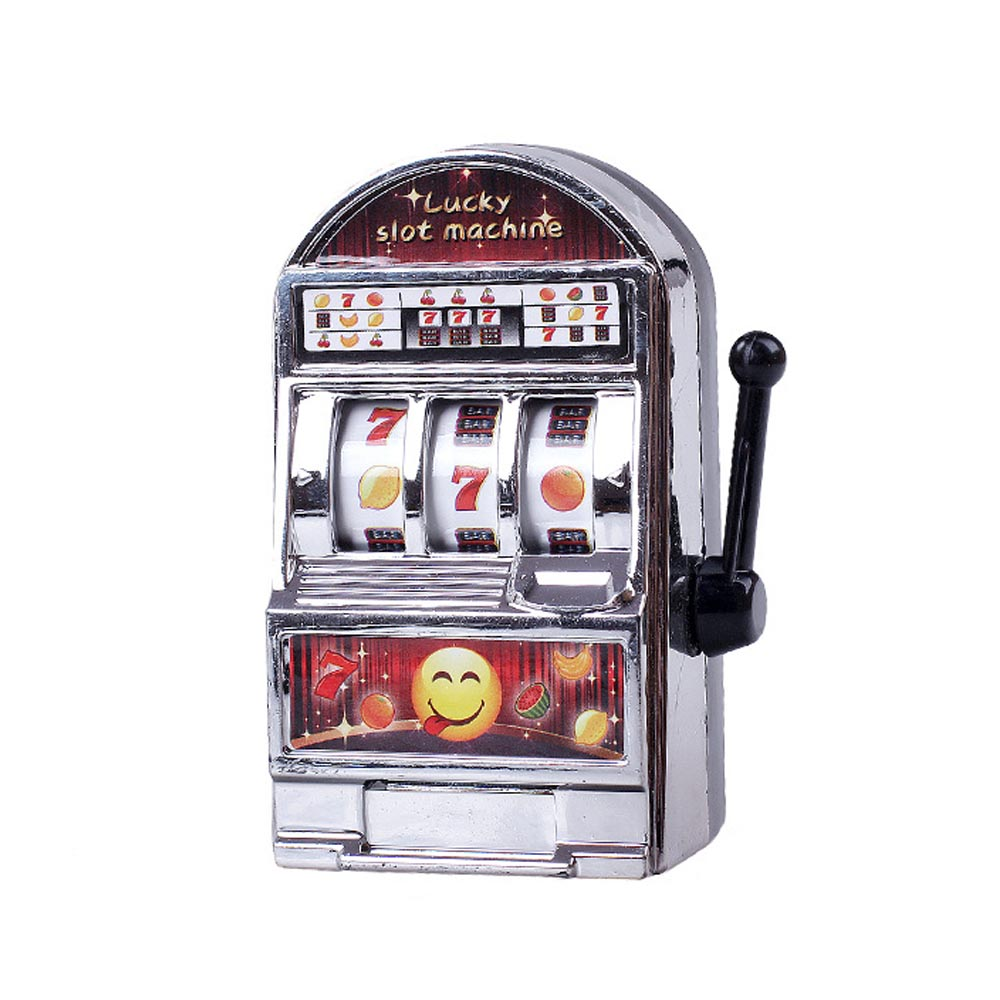 Mini Casino Jackpot Fruit Slot Machine Funny Decompression Toys Lucky Jackpot For Christmas Gift Kids Safe Toy gadget