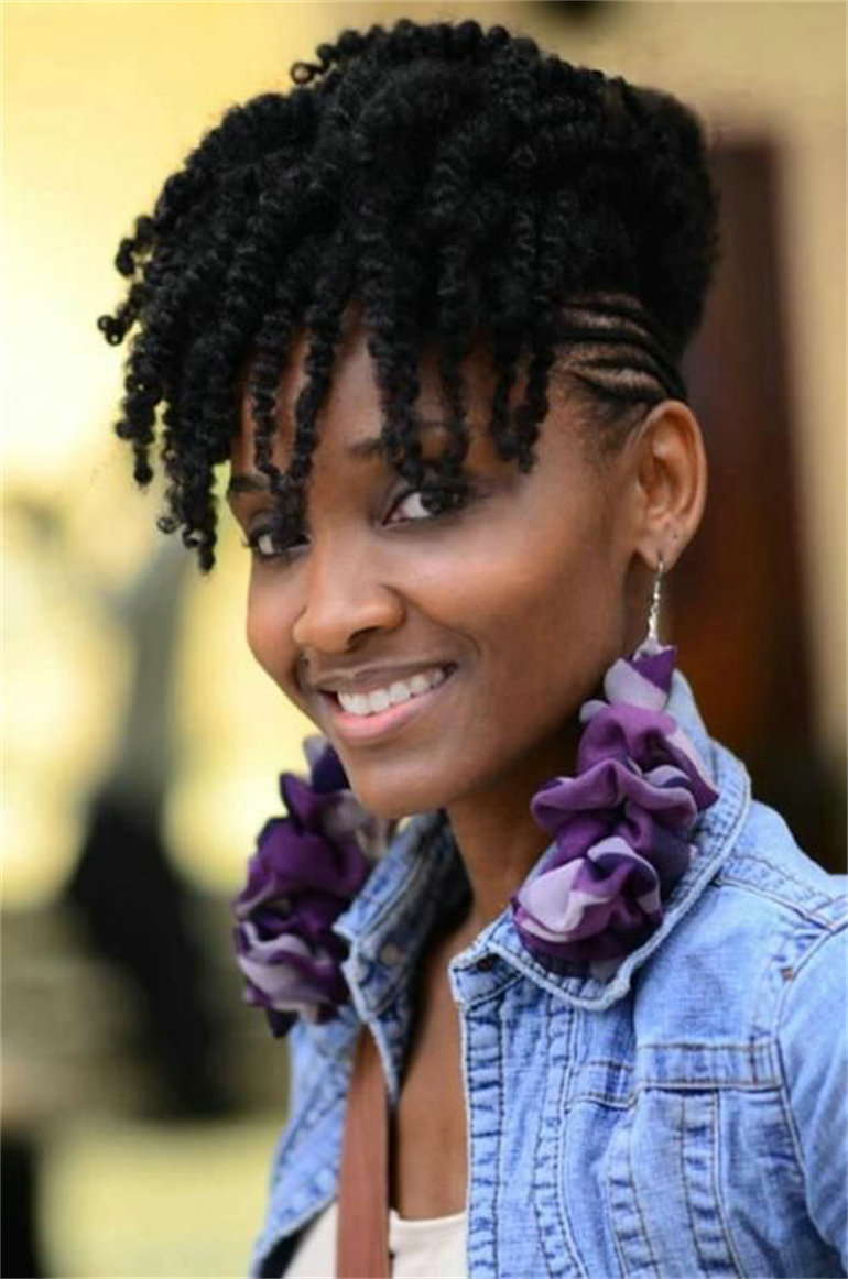 How to wear short kinky hair