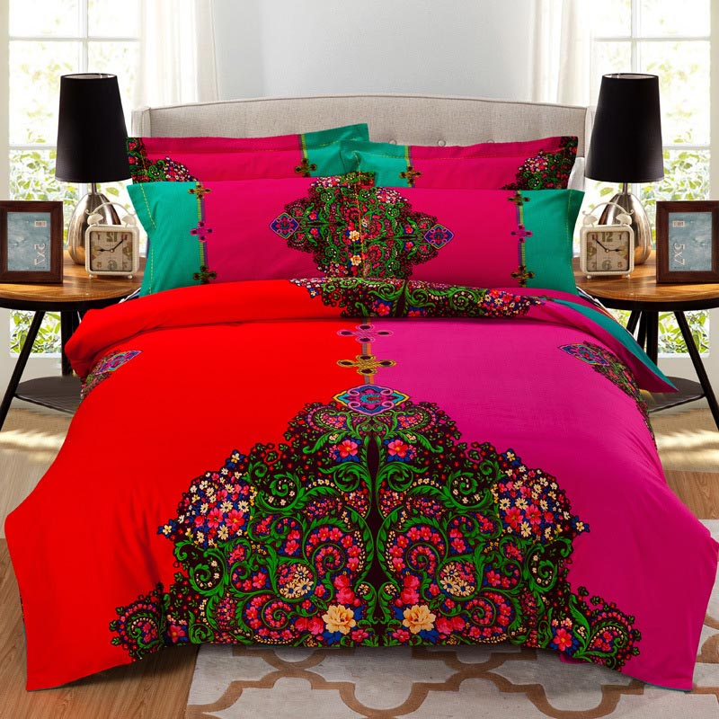 Wonderful 2017 Hot Sale Tang Dynasty Bedding Set Chinese Wind Bed Linens Bed Sheet Set  Bedclothes Queen Size 4 Pieces Bed Cover Set In Bedding Sets From Home U0026  Garden ...