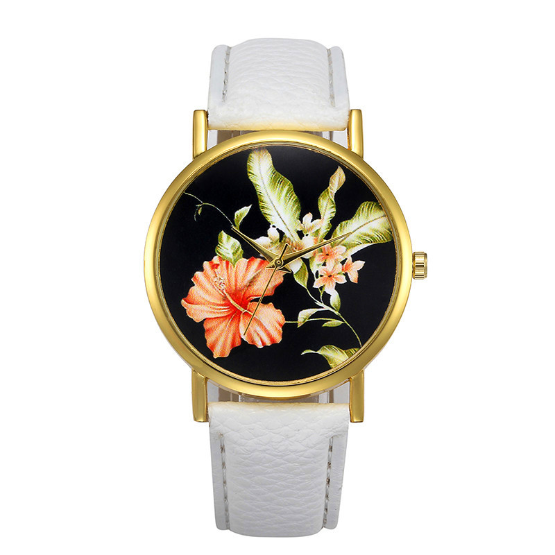 women watchescasual Fashion Womens Retro Design Leather B Analog Alloy Quartz Wrist Watch relogio Reloj clock 170502 P*21