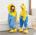 Retail New Baby Boys Girls Pajamas Autumn Winter Children Flannel Animal funny animal Pajamas Kid Sleepwear 3-12 years 1