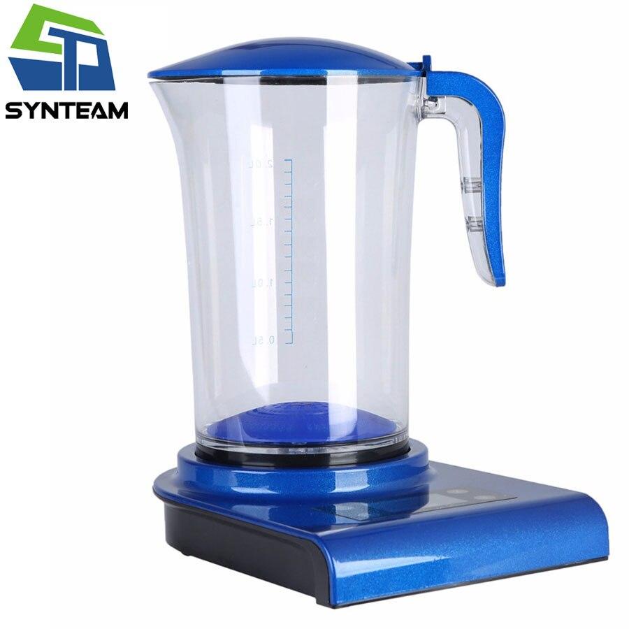 SYNTEAM Marque Générateur D'hydrogène Alcaline Ioniseurs D'eau 2.0L 100-240 V Antioxydant ORP de L'eau D'hydrogène Maker/Machine WAC001