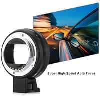 Nuevo adaptador de lente Commlite CM-EF-E HS AF para lentes Canon EF/EF-S a cámaras Sony E