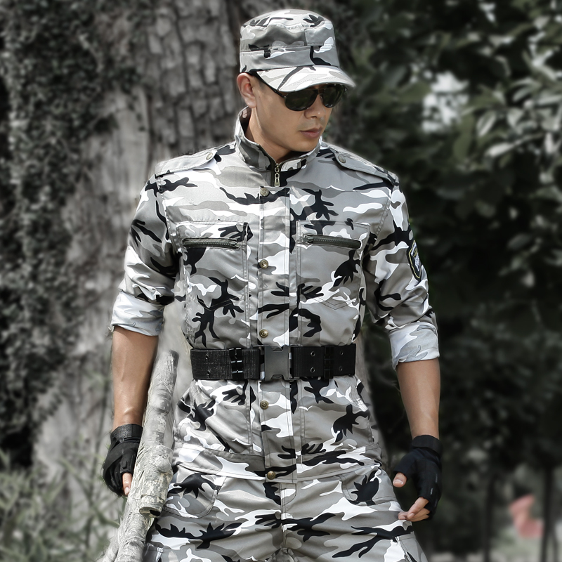 Tactical Hunting Clothes CS Camouflage Military Combat Jackets Pants Army Training Pantalon Commandos Suits Gear For