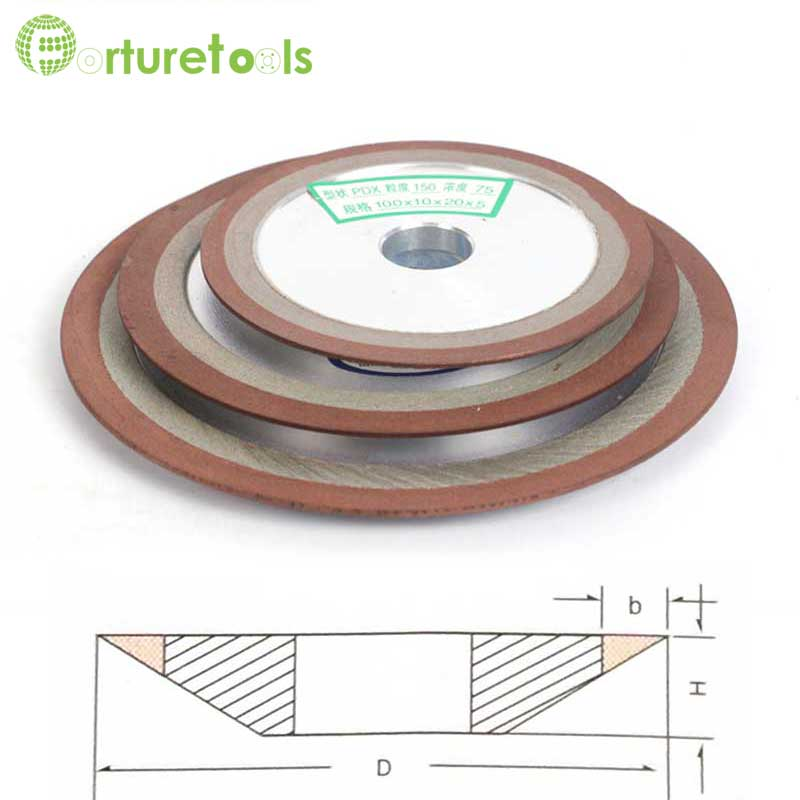 Resin diamond wheel for woodworking blade teeth tungsten carbide single tapered abrasive wheel hard alloy sharpening R003b