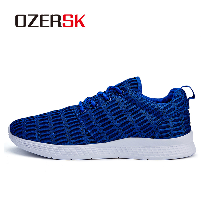 OZERSK Size 39~48 Brand New Men Running Shoes Sport Shoes High Quality Men Sneakers Athletic Zapatillas Outdoor Breathable Shoes