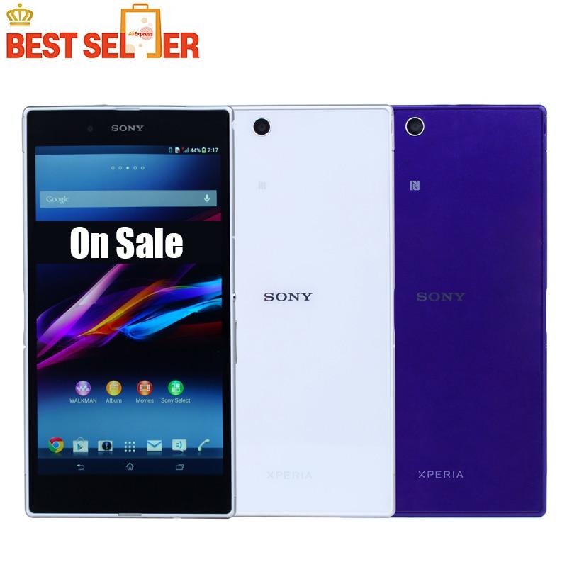 "bilder für Freigesetzter Sony Xperia Z Ultra XL39H Original Android Quad-Core 2 GB RAM Sony XL39h C6802 C6833 GSM3G & 4G 6,4 ""8MP WIFI GPS 16 GB ROM"