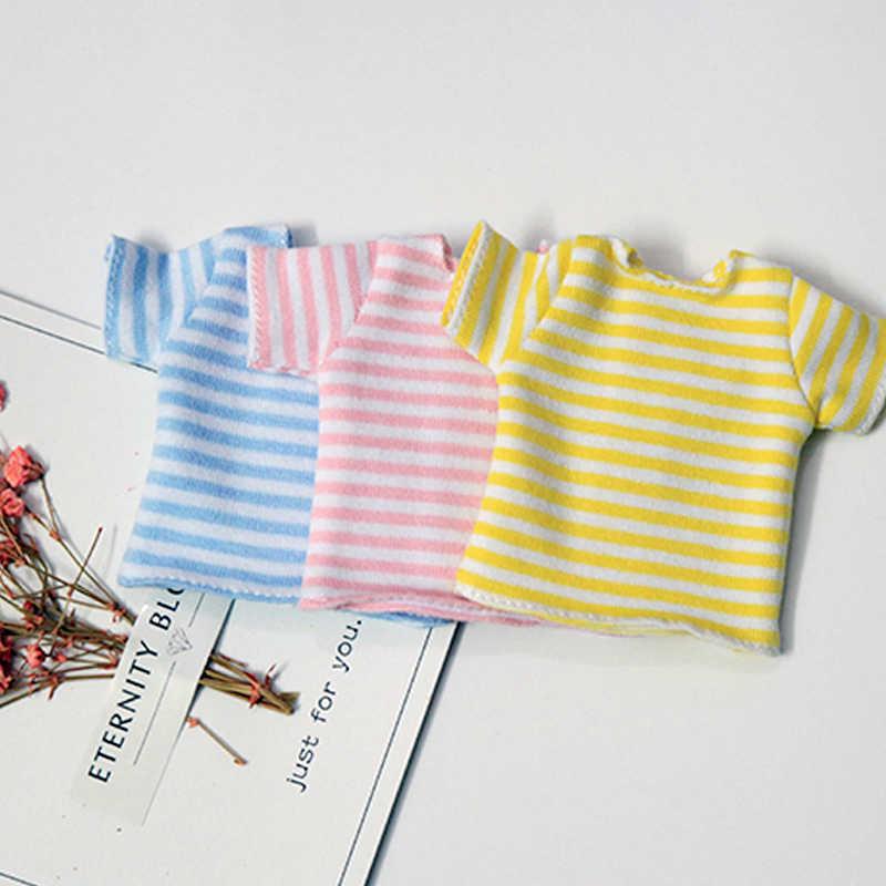 1 قطعة 1/6 دمية ملابس قميص مخطط ل Blyth قمصان دمية الملابس والاكسسوارات صالح (blyth ، pullip ، باربي ، azone ، kurhn ، 1/6 دمية)