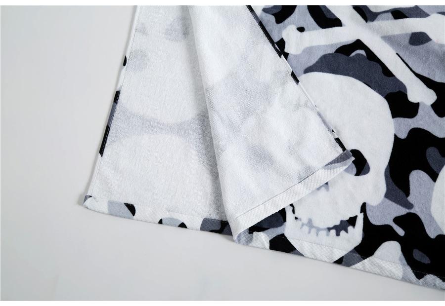 Pealuudega rätik puuvillast