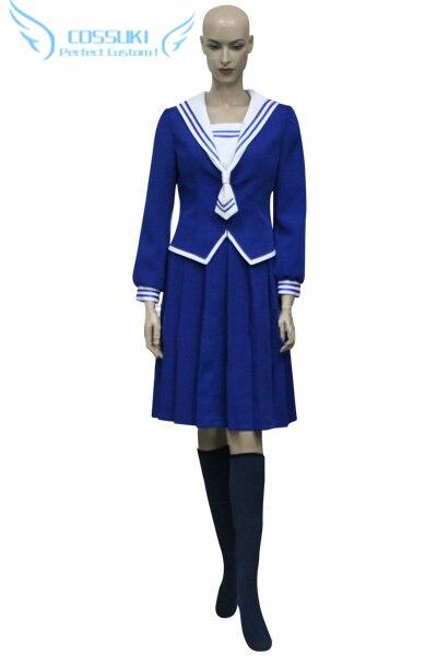 Newest High Quality Fruits Basket Saki Hanajima Uniform Cosplay Costume Perfect Custom For You