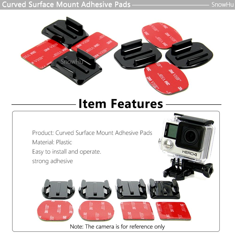 Accesorios de la cámara de acción SnowHu Juego de montaje para - Cámara y foto - foto 6