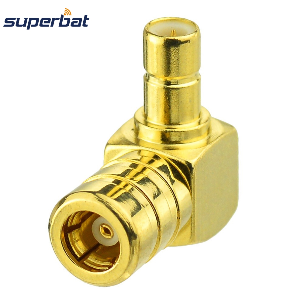 Superbat Satellite Radio Antenna SMB Female Jack To Male Plug Antenna Adapter For Sirius XM Audiovox Samsung  Satellite Radio