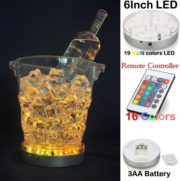 Ice Bucket led light base Amber Color