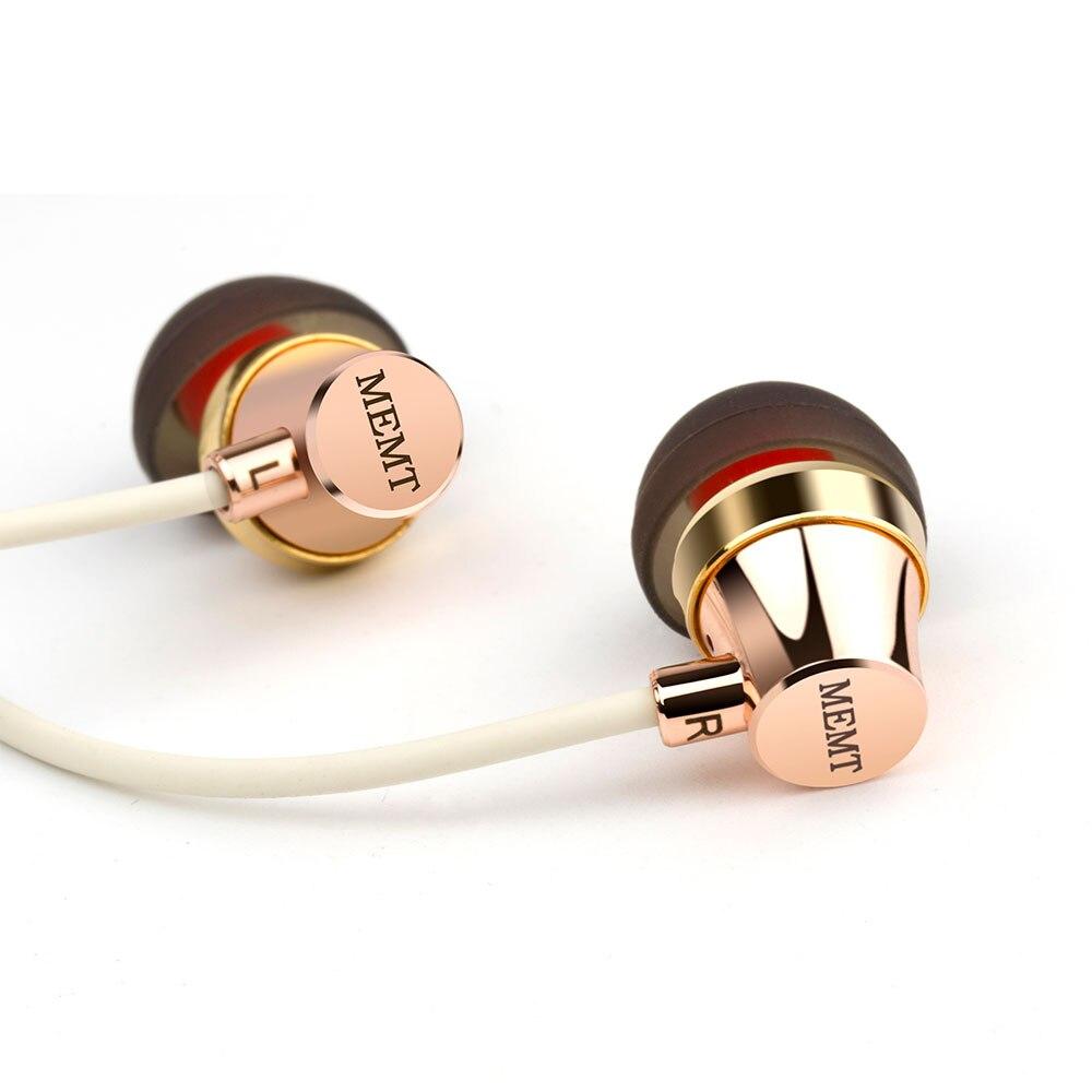 Original MEMT X9 Dynamische In Ohr Kopfhörer 3,5mm Professionelle Alle-metall Headset Ohrhörer Hifi Bass Mic Kopfhörer Für Xiaomi