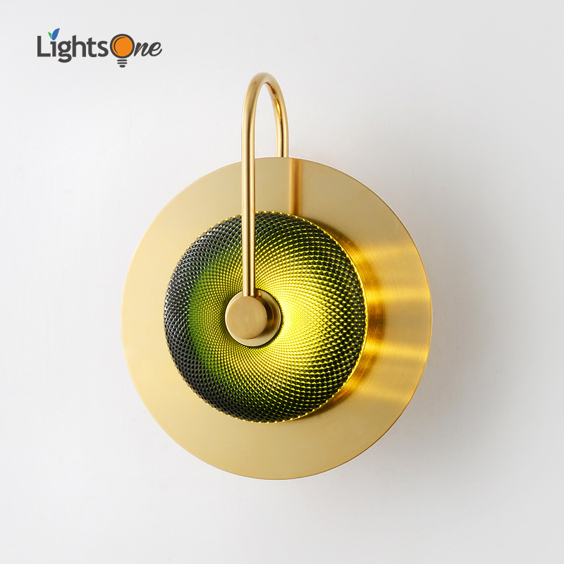Postmodern luxury wall light living room designer creative simple bedroom aisle corridor stair wall lamp