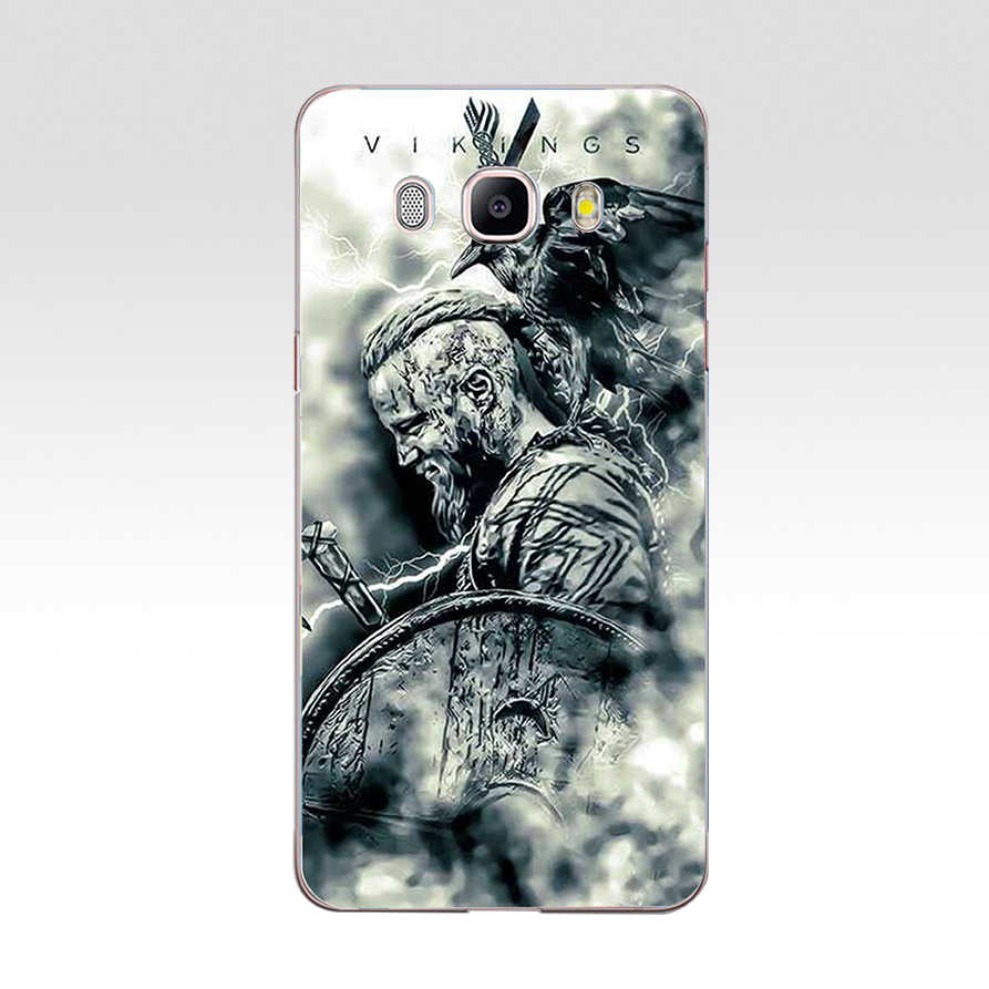 254DD Vikings Tampa Da Caixa Do Silicone Macio para Samsung Galaxy a3 a5 2017 A6 A8 2018 j3 j5 j7 2016 2017