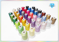 40 Brother Colors Polyester Embroidery Thread 1 Lot 10 Sets