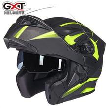 GXT Casco 902 Del Motociclo Doppio Visiere Pieno volto moto Casco Moto Da Corsa Filp Up Fresco Uomini a cavallo casco Moto Casco