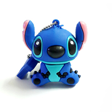 Free Shipping Cartoon Lilo & Stitch USB Flash Drives 8GB 16GB 32G 64G Pen Drive Memory Stick Pendrive Usb 2.0