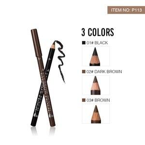 Image 2 - MENOW P113 12Pcs Eyeliner Pencil for Women Waterproof Sweatproof lasting Eyebrow Eye Liner Pencils Makeup Tools Easy to color