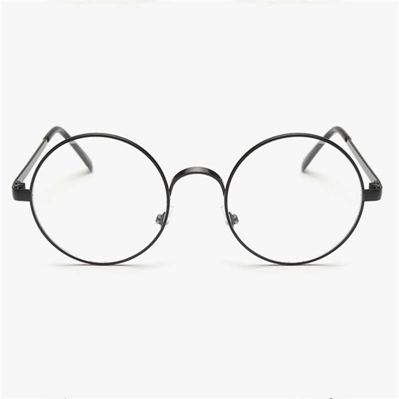 941b60fe59 ... KUJUNY Round Spectacle Glasses Frames For Harry Potter Glasses With Clear  Glass Women Men Myopia Optical ...