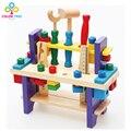Crianças Brinquedos De Madeira Conjunto de Gadgets Funny Blocos Multicolor Removível Toy Aprendizagem Brinquedos Educativos Presentes de Natal Para Crianças