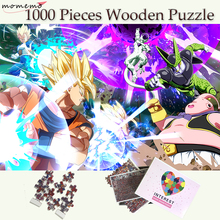 MOMEMO Dragon Ball Wooden Puzzle Customized 1000 Pieces Classic Cartoon Jigsaw Puzzles Toys for Adults Teenagers Games