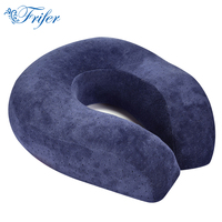 Hot Sell Neck Pillows U Shaped Slow Rebound Memory Foam Travel Pillow Head Rest Pillows For