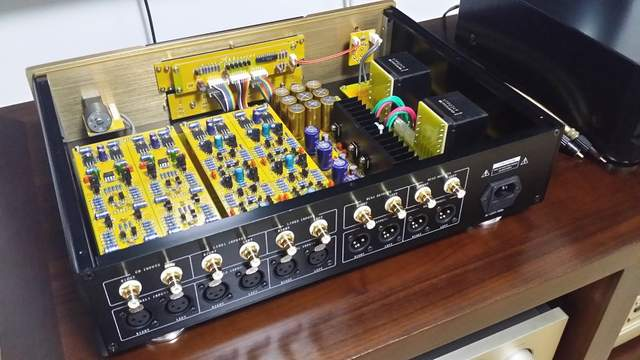 US $1350 0 |M 016 PA 2 Reference Preamplifier Pre AMP Preamp Pre amplifier  Pre Amplifier full Balanced Class A amplifier 110V 220V-in Amplifier from
