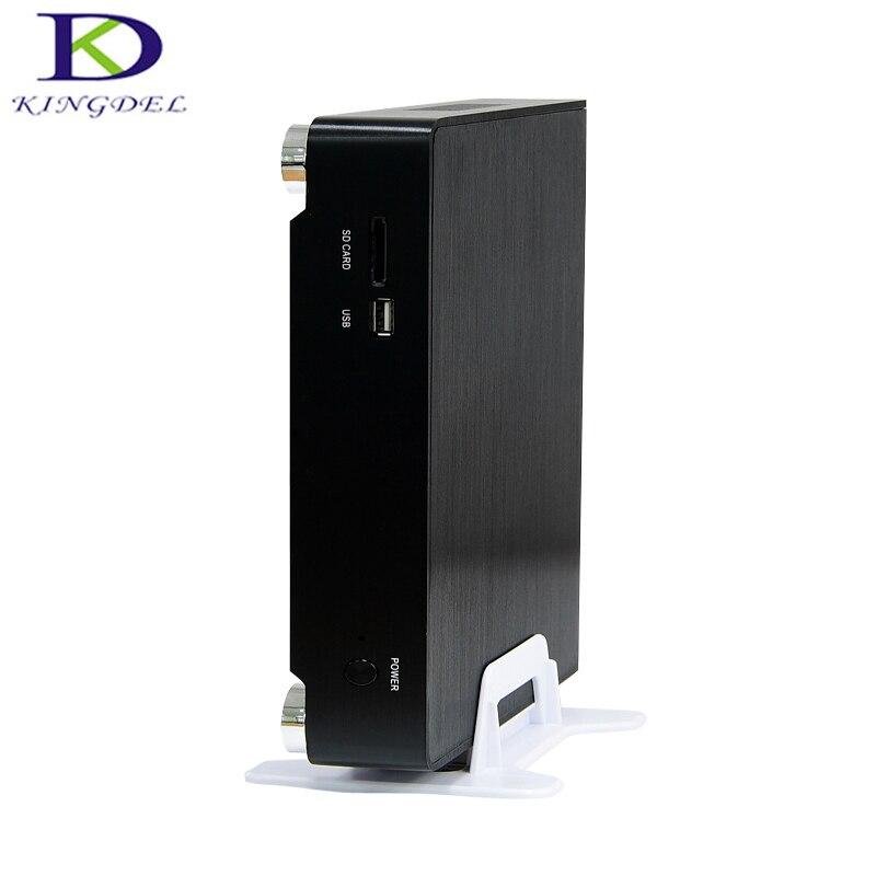 New Arrival Intel I3 5005U Mini PC With  Fan Metal Case Gaming Desktop Computer HDMI VGA HTPC HDMI,TV Box , Mini Computer