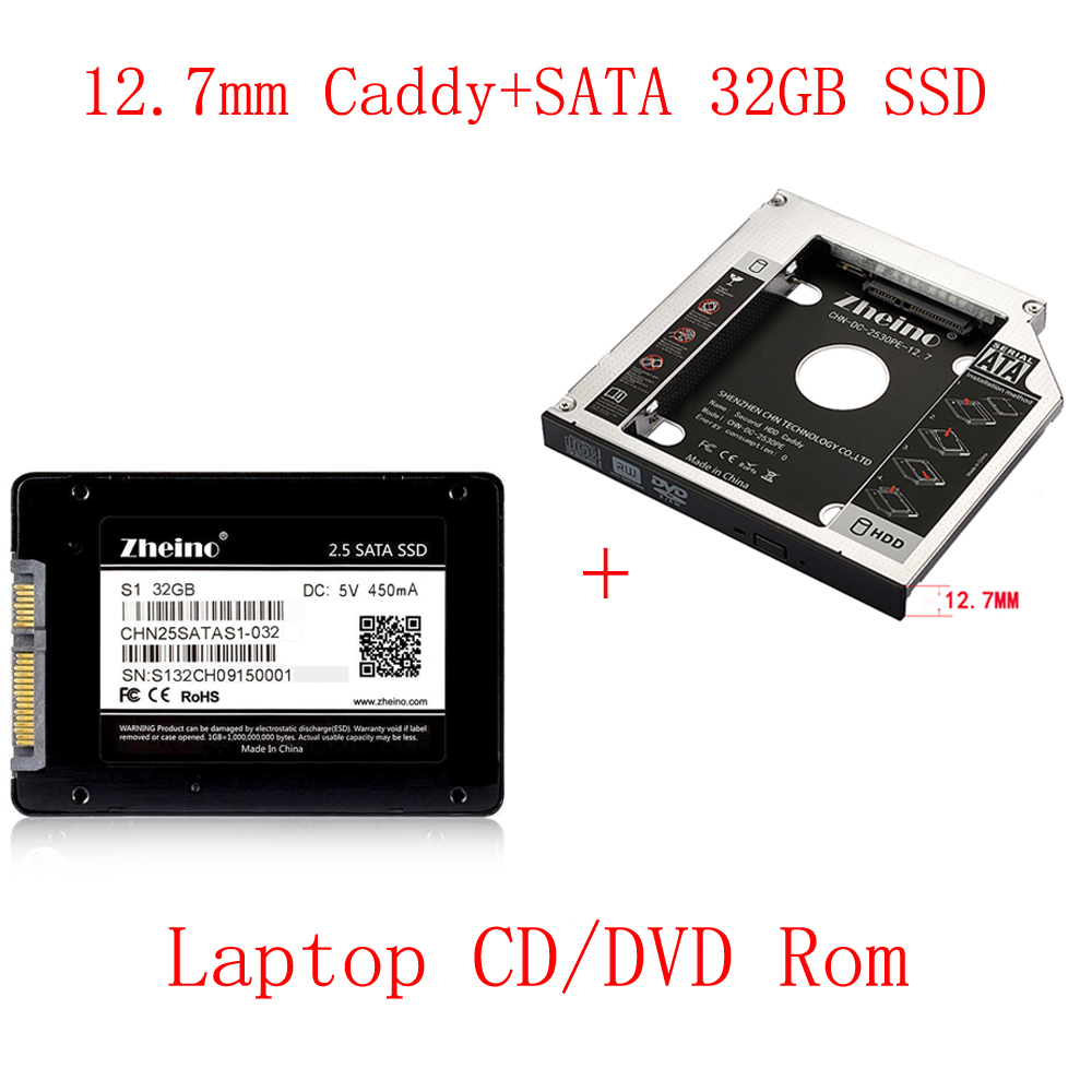 Zheino aluminio 9,5mm 2nd HDD SSD Caddy 2,5 SATA a SATA marco Caddy ...