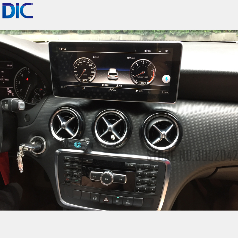 6.0 Android system 10.25 inch navigation player <font><b>gps</b></font> Radio steering-wheel wifi <font><b>For</b></font> Benz 2013-2017 A160 A180 A190A200 A250 A45AM image