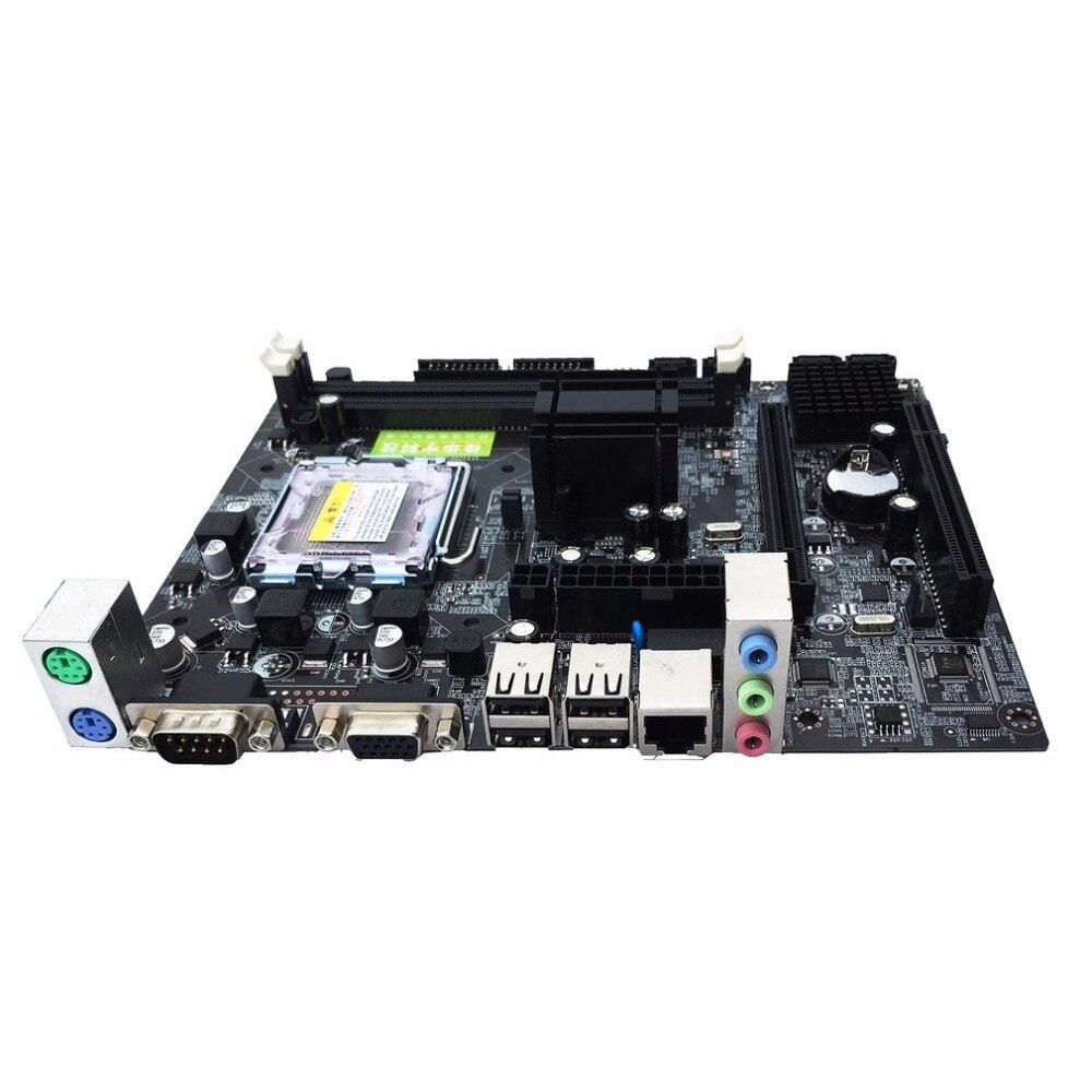 Professionnel Gigabyte Carte Mère G41 De Bureau carte mère d'ordinateur DDR3 Mémoire LGA 775 Soutien Dual Core Quad Core CPU