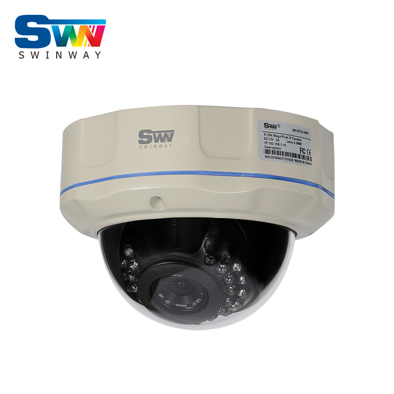 Security CCTV POE 30 IR Outdoor Waterproof Vandal-proof Dome Onvif H.264 2.0 Megapixel 1080P Network IP Camera onvif cctv h 264 1 3 megapixel hd network outdoor waterproof ip camera with poe 4 array ir led 6mm night vision security