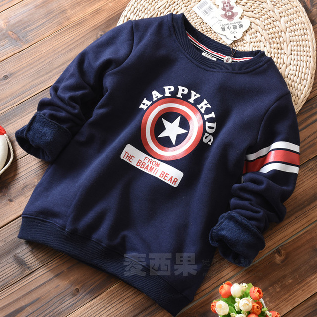 and girls with cashmere thickened long sleeved T-shirt children sweater baby padded turtleneck sweater sweater backing