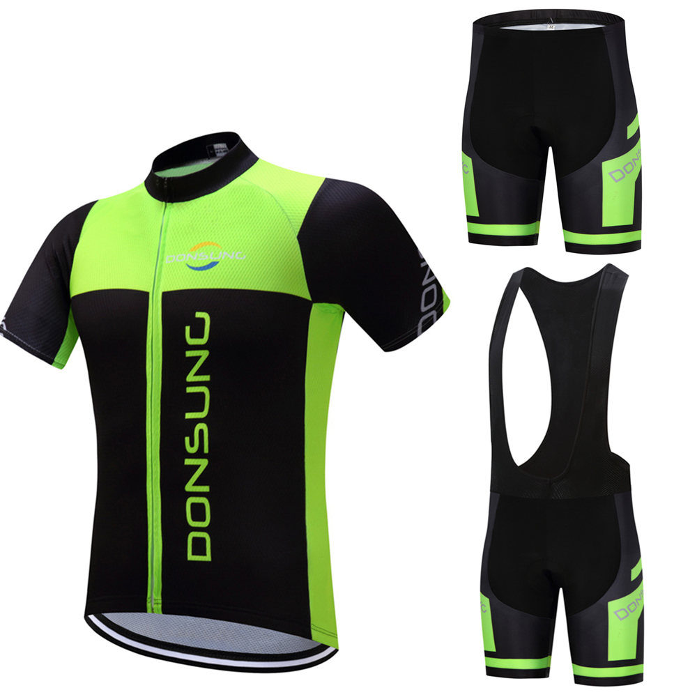 2018 Cycling Jersey Set Summer Pro Team Short Sleeve Cycling Set MTB Bicycle Clothing Maillot Ropa Ciclismo Cycling Sports Suit