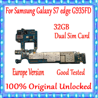 For Samsung Galaxy S7 Edge G935FD Motherboard Dual Sim Card board,100% Original Unlocked for Galaxy S7 Edge G935FD Logic board