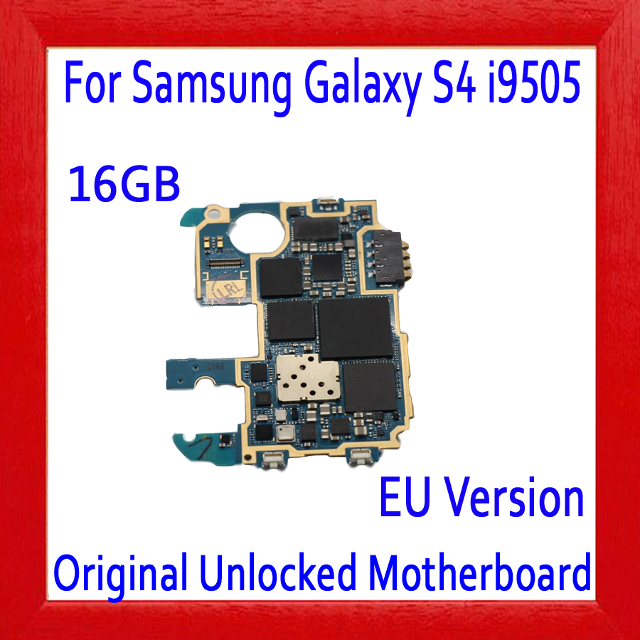 with Android System for <font><b>Samsung</b></font> <font><b>Galaxy</b></font> <font><b>S4</b></font> i9505 Motherboard,100% Original unlocked for <font><b>Galaxy</b></font> <font><b>S4</b></font> i9505 Logic <font><b>board</b></font>,EU Version image