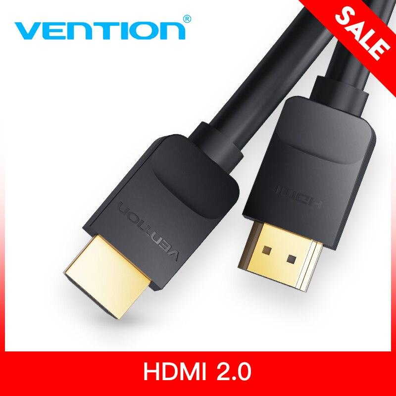 Intervento HDMI Cavo HDMI a HDMI cavo HDMI 2.0 Supporto 4 k * 2 k Cavo per HD TV LCD del computer portatile PS3 Proiettore Del Computer 1 m 1.5 m 2 m 3 m 5 m