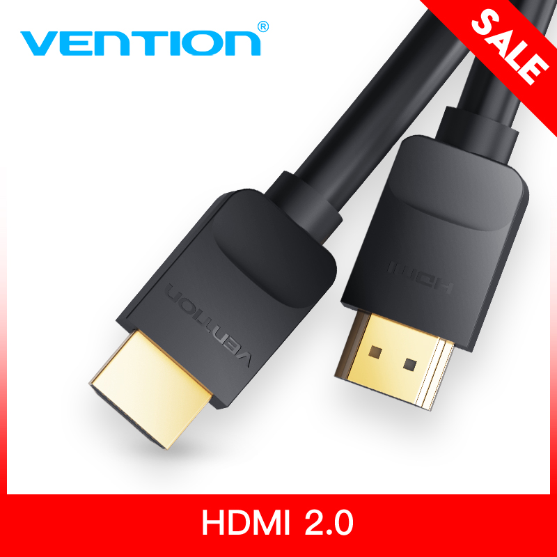 Vention HDMI Cable HDMI to HDMI cable HDMI 2.0 Support 4k *2K Cable for HD TV LCD Laptop PS3 Projector Computer 1m 1.5m 2m 3m 5m цены