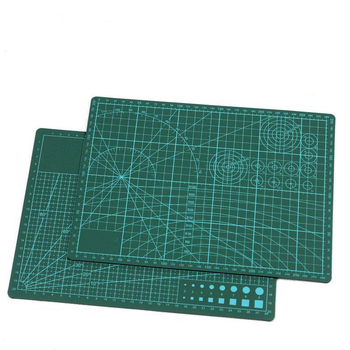 A4 Self Healing Rotary Cutting Mat Pad Cutting Board Double-sided Manual DIY Tool For Crafts, Quilting, Sewing, Scrapbooking a4 30 22cm sewing cutting mats plate design engraving cutting board mat handmade hand tools