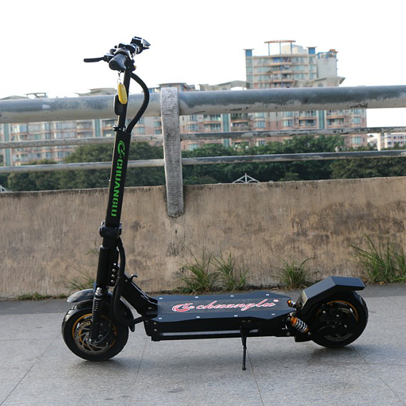 Kwheel Double Drive Obarter V9 Electric Scooter Frame Without Battery Motors Ful And Oil Brake