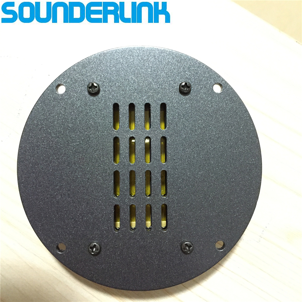 Sounderlink 2PCS lot High Power HiFi planar Speaker ribbon tweeter AMT transformer kapton aluminum foil front