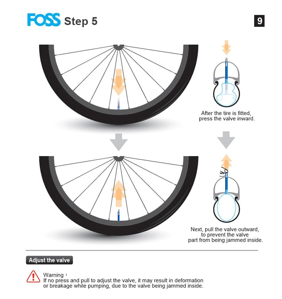 estrada mtb bicicleta tubo interno de borracha