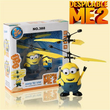 Upgrades Package !Remote Control RC Helicopter Flying Despicable Me Minion Quadcopter Drone Ar.drone Kids Toys VS Fairy Doll x5c