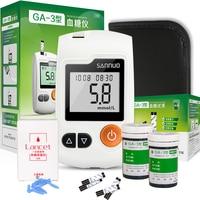 SINOCARE Glucometer GA 3 Blood Glucose Meter with Test Strips Lancets Medical Blood Sugar Meter Diabetes Test