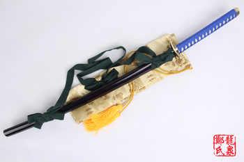 สำหรับ Bleach แฟนตาซีอะนิเมะ Toshiro Hitsugaya Samurai Katana จริงดาบเหล็กคาร์บอนคอสเพลย์ Props คริสต์มาสตกแต่ง