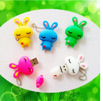 cartoon usb flash drive rabbit 2gb 4gb 8gb 16gb 32gb 64gb usb flash drive USB Flash 2.0 Memory Drive Stick Pen/Thumb/Car S118